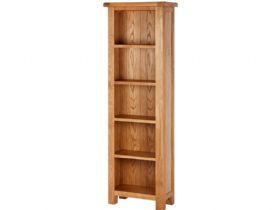 Fairfax Oak Slim Deep Bookcase