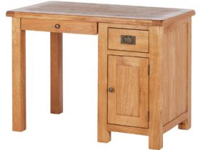 Fairfax Oak Single Desk
