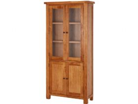Fairfax Oak Display Cabinet