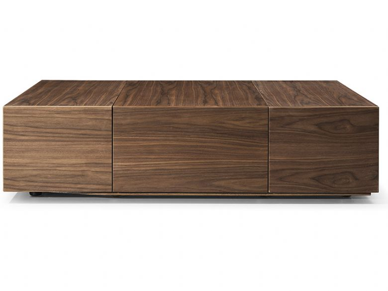 Flix Modern Walnut Coffee Table