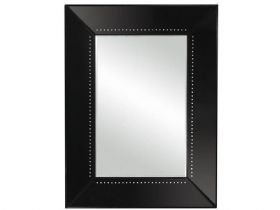 Grey Mirror Glass Frame - Jewelled Detail