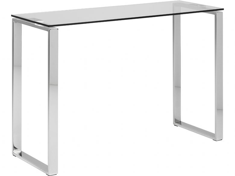 Console Table - Clear Glass