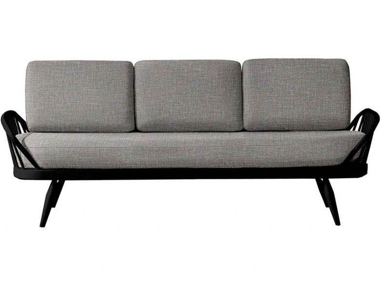 Ercol Originals Studio Couch with Black Frame