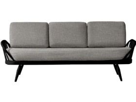 Studio Couch With Black Frame