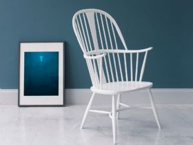 Ercol Originals Chairmakers chair in white
