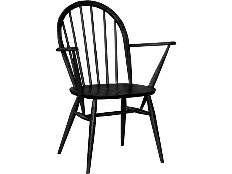 Ercol Windsor Armchair in Black