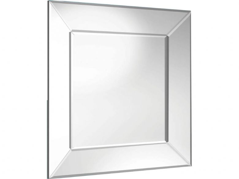 Angle Framed Square Mirror