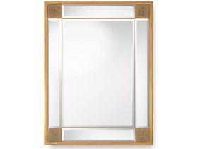 Decorative Gold Glass Mirror