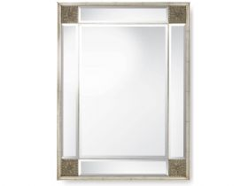 Decorative Silver Glass Mirror