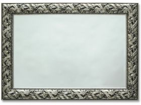 "Sherwood Antique Silver Mirror 48""x 38"""