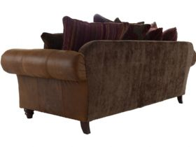Carnegie 3 Seater fabric back