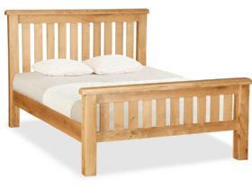 Oak 5'0 Kingsize Slatted Bedframe