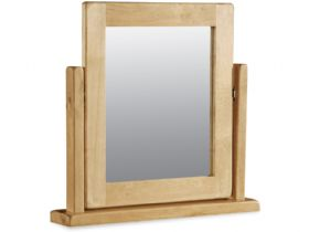 Fairfax Bedroom Oak Vanity Mirror