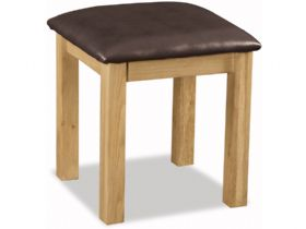 Fairfax Bedroom Oak Stool