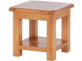 Fairfax Oak Lamp Table