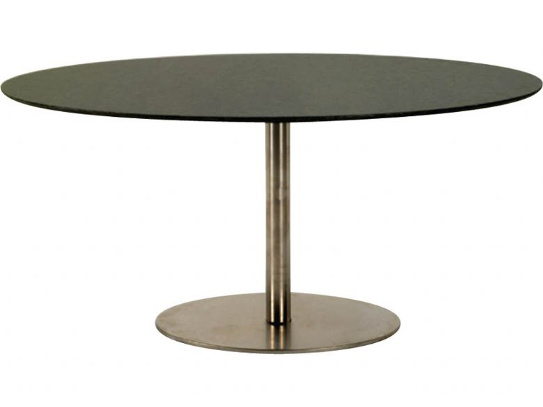 120cm Elipse Oval Dining Table