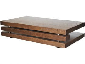 Dark Elm Coffee Table