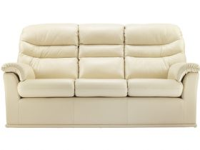 G Plan Malvern Leather 3 Seater Double Power Recliner Sofa