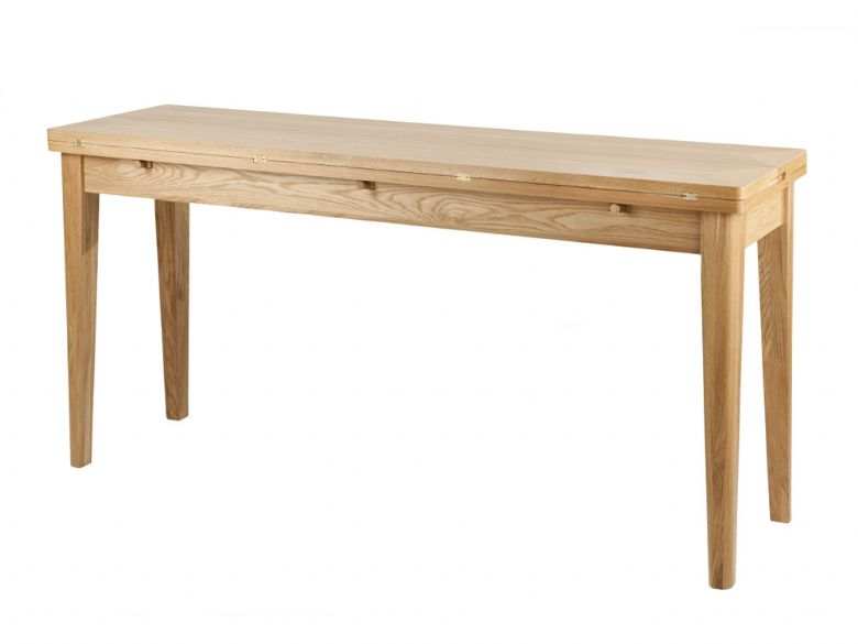 willis gambier spirit oak console dining table lee longlands