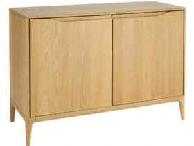 Ercol Romana Oak 2 Door Sideboard