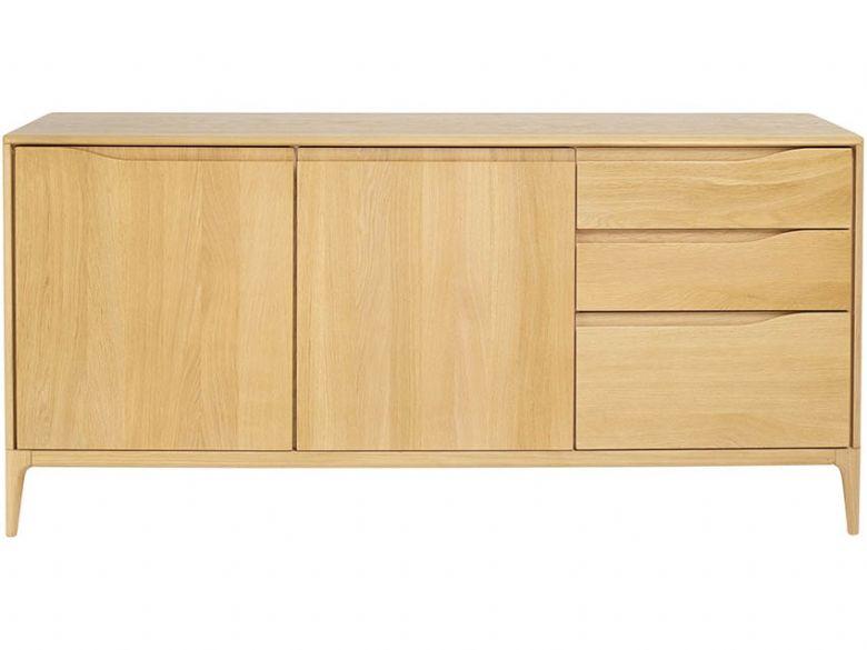 Ercol romana oak large sideboard lee longlands for Sideboard romina