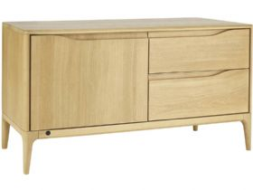 Ercol Romana Oak IR TV Unit