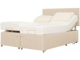 4'6 Double Adjustable Massage Divan