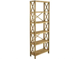 Duke Oak 6 Shelf Unit
