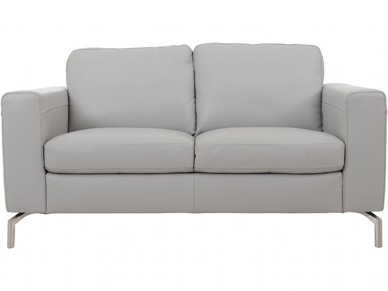 Modern 2 Seater Leather Loveseat