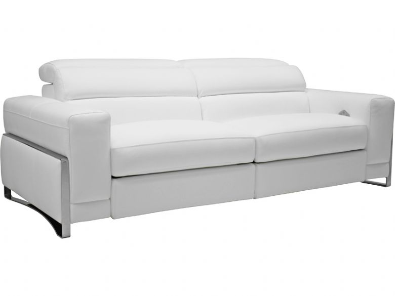 Domino 2 Seater Double Power Recliner Sofa Lee Longlands