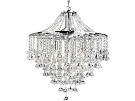 Dorchester 5 Light Chrome Pendant