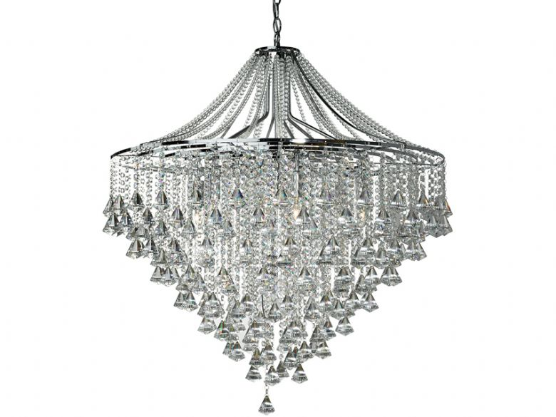 Dorchester 7 Light Chrome Pendant