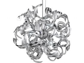 Sparkles 9 Light Chrome Pendant