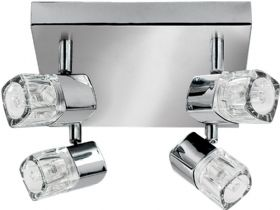 Ice Cube Chrome Spot Light
