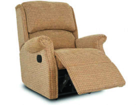 Maltby recliner in Tweed Braemar