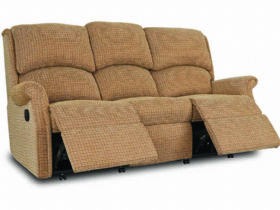 Manual 3 Seater Recliner Sofa
