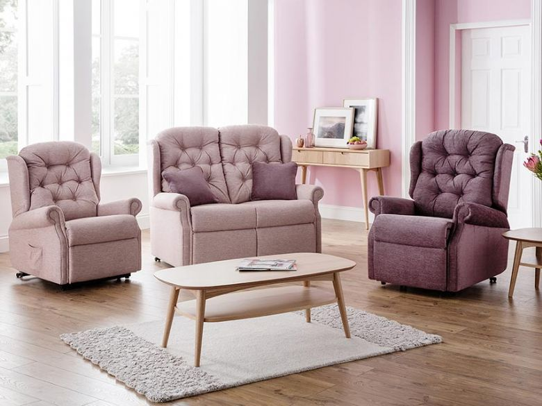 Ludlow Fabric Recliner & Lift & Rise Range