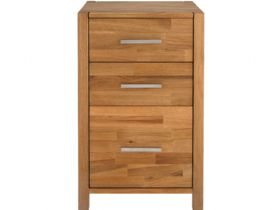 Duke Oak Filing Chest