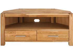 Duke Oak Corner TV Unit