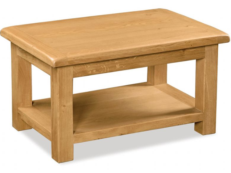 Fairfax oak large coffee table
