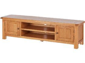 Fairfax Oak Low TV Unit