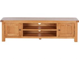 Oak Low TV Unit