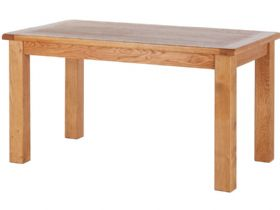 Oak 1.8m Fixed Top Table