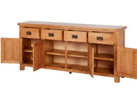 Extra Large Sideboard Open