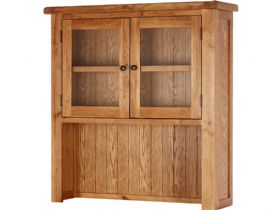 Fairfax Oak Small Hutch