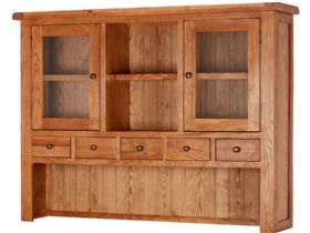 Fairfax Oak Large Hutch