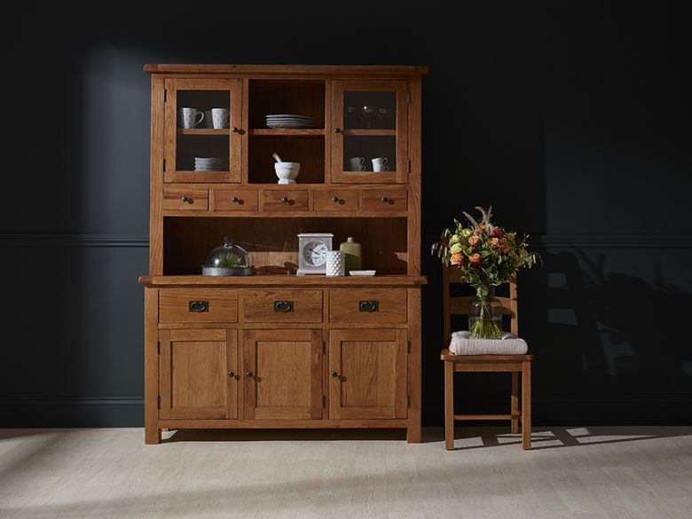 Fairfax Large Hutch and Sideboard