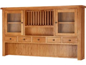 Fairfax Oak Extra Large Hutch