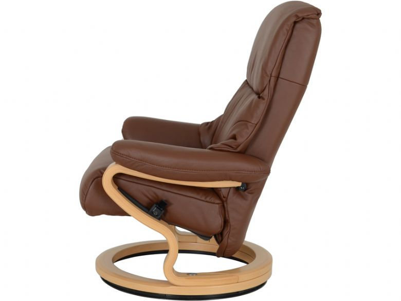 Super Himolla Clyde Leather Recliner Chair Stool Lee Longlands Ocoug Best Dining Table And Chair Ideas Images Ocougorg