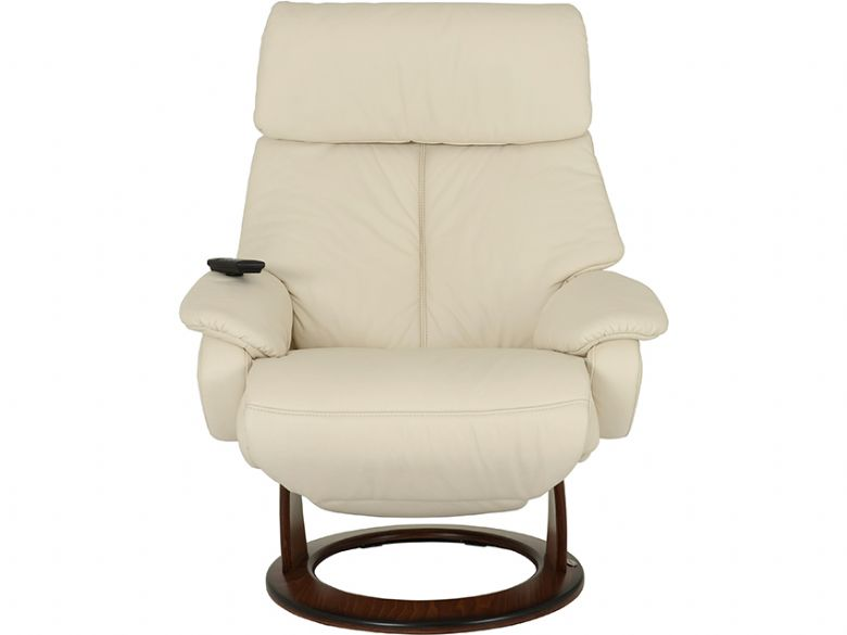 Himolla Tyson Medium Electric recliner chair in cream